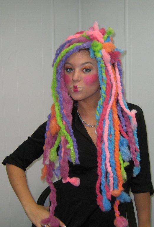Christy with Candyland dreads